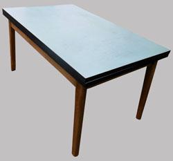 formica mat riau stratifi meubles vintage ann es 1960. Black Bedroom Furniture Sets. Home Design Ideas