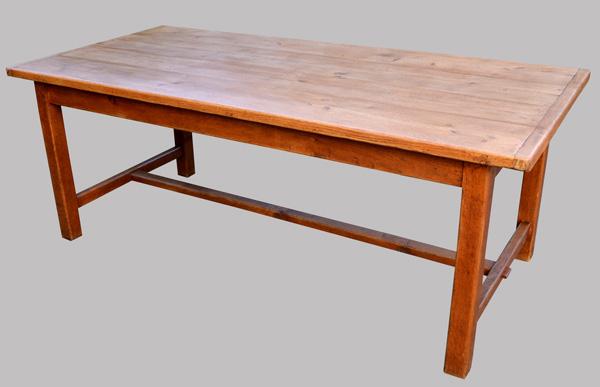 belle grande table de ferme ancienne en ch ne originaire de picardie. Black Bedroom Furniture Sets. Home Design Ideas