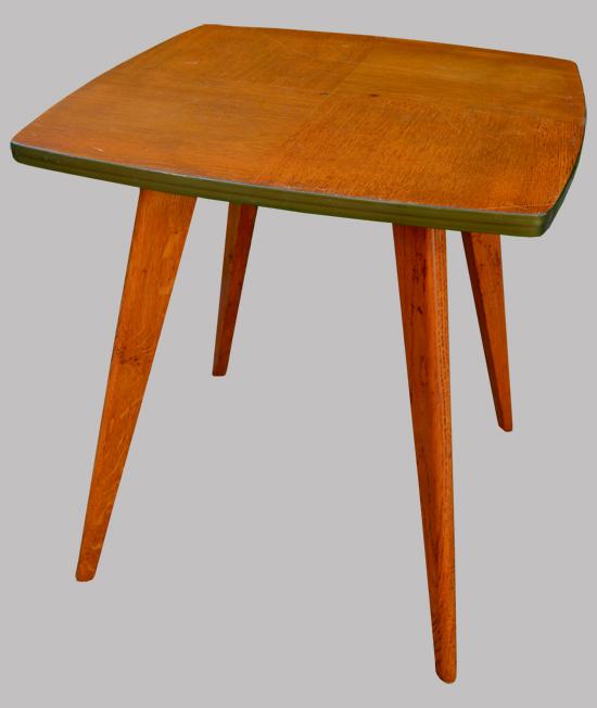el gante petite table gueridon ann es 70 pieds compas. Black Bedroom Furniture Sets. Home Design Ideas